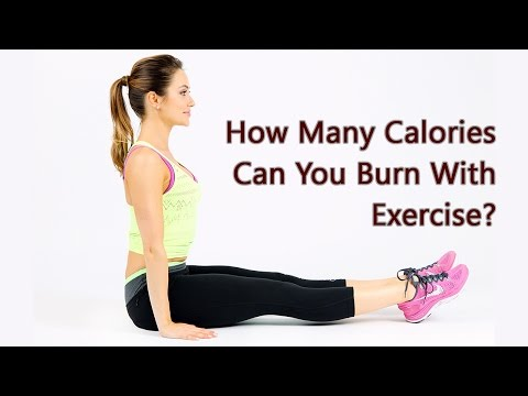 How Many Calories Burned With These Exercises?