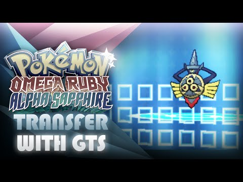 How To Transfer From X & Y To ORAS With GTS! Pokemon/Items - Mootypwns
