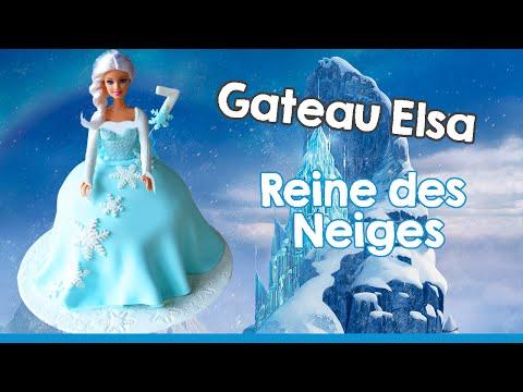 Gâteau Elsa reine des Neiges I Cake design - Elsa doll cake
