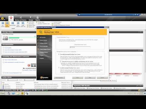 Backup Exec 2012 - Replicate the backup data to another backup exec server