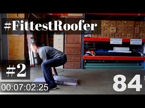 #FittestRoofer Challenge by Roofing Insights, Dmitry Lipinskiy: 8:12