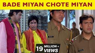 Bade Miyan Chote Miyan | All comedy Scenes | Amitabh Bachchan | Govinda | Raveena Tandon