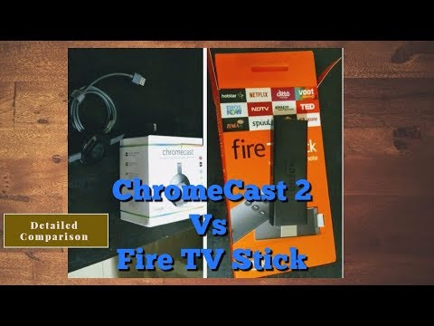 Fire TV Stick vs Chromecast 2 | The Ultimate Comparison