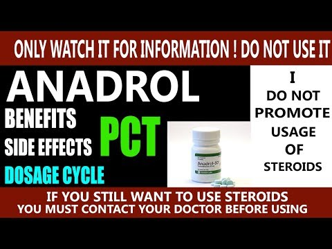 What is anadrol (oxymetholone) in hindi | Benefits, Side Effects, Dosage Cycle And Pct Of Anadrol
