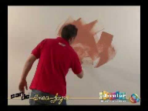 ADICOLOR PAINT - San De Decorative Paint Finish  Application Video WWW.ADICOLOR.COM.AU