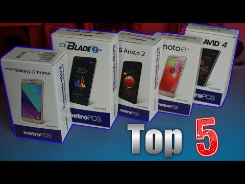 Top 5 Metro PCS Phones January 2018