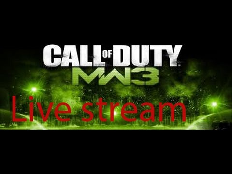 Call of Duty mw3  multi player online live stream ..pc game play PART 2