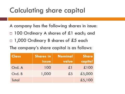 Company shares