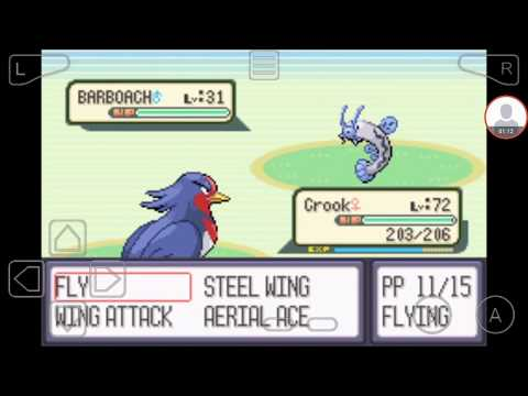 Pokemon Sapphire - Catching Barboach