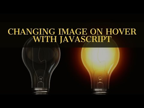 Changing image on hover - Javascript