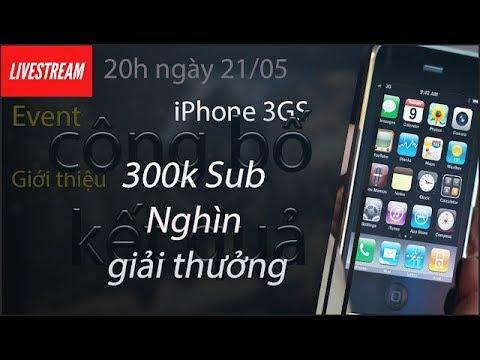 Công bố kết quả Event iPhone 3GS, giới thiệu văn phòng mới, Event cực khủng mừng 300K Sub