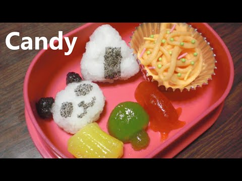 You can eat 🍙 DIY Bento shaped Candy Kit - popin' cookin' 5 可吃