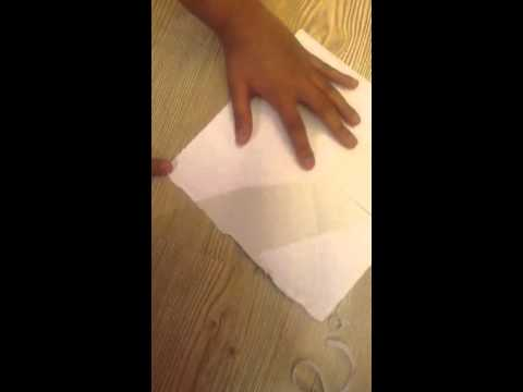 How to make origami paper finger game-fortune part 1