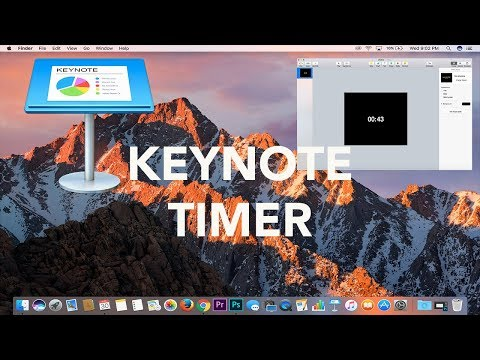 Apple Keynote Tutorial: How to Make an Animated Timer