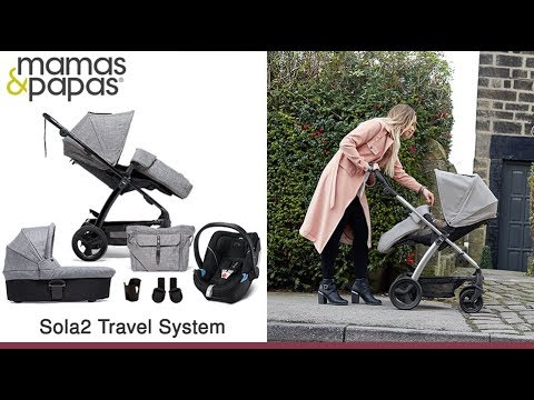 Mamas & Papas Sola2 Travel System Store Demo - Direct2Mum