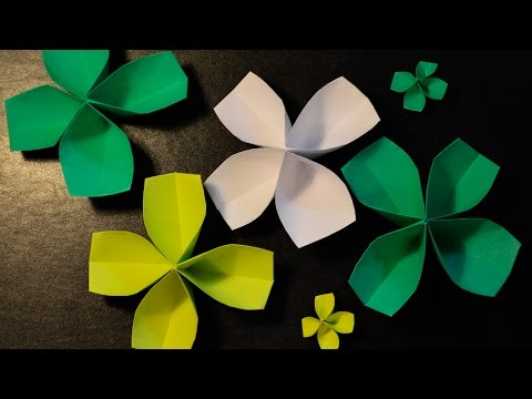 How to Make a Paper Four-Leaf Clover
