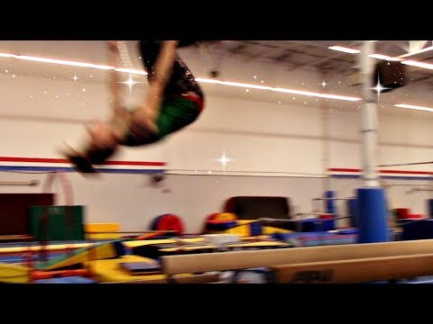 How To Back Tuck/Flip Off Beam With Coach Meggin!