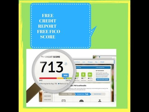 Free Credit Report and Free FICO score. Including how to get a free Transunion credit report