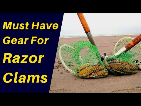 Must Have Gear for Razor Clamming