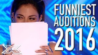 FUNNIEST X Factor UK Auditions From 2016!   X Factor Global