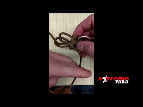 How to easily tie the Napoleon Claw, a modified Cat's Paw - eXtremePara.com