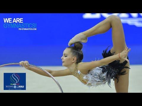 2017 Rhythmic Worlds, Pesaro (ITA) - Hoop+Ball Finals, Highlights - We Are Gymnastics !