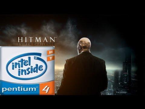 Hitman : Sniper Challenge - on [ Pentium 4 & GT 210 ]