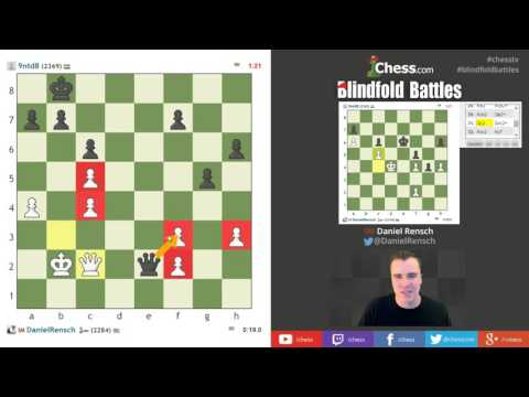 Blindfold Blitz Chess: Visualization Training with IM Rensch