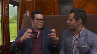 Josh Gad is making a Gorgeous George movie for WWE Studios