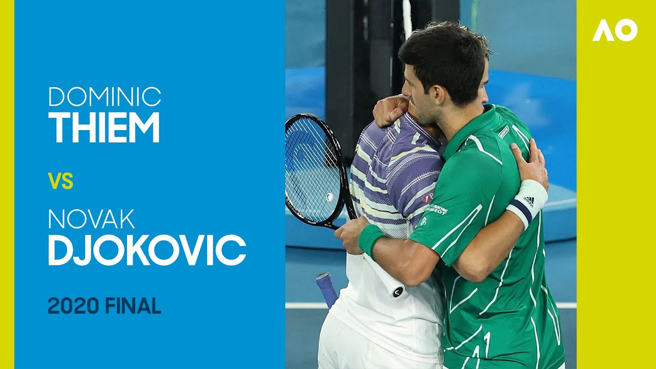Dominic Thiem vs Novak Djokovic Full Match   Australian Open 2020 Final