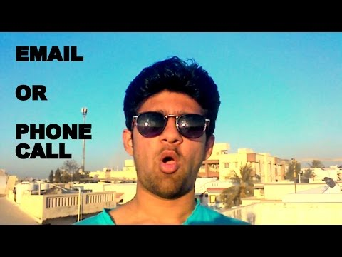 email VS phone calls | which one is better? | #1