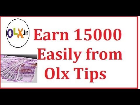 How to earn money from classified websites like OLX, Quikr?