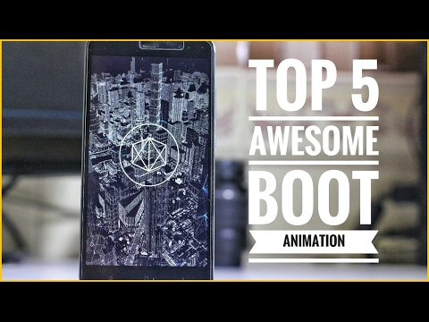 Top 5 Awesome Bootanimations For Android [ROOT] ❤️️ Installation Guide