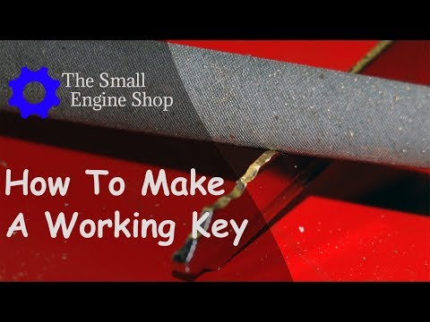 How to disassemble the ignition lock and make a working key for a 2006-2017 Kawasaki Vulcan 900