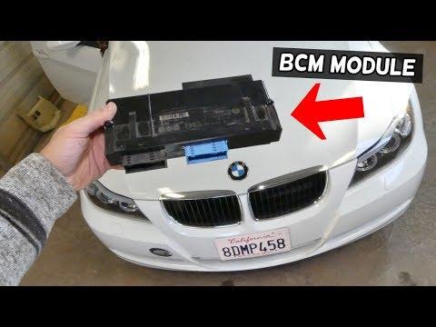 HOW TO REMOVE AND REPLACE BCM MODULE BMW E90 E92 E91 E93 BODY CONTROL MODULE