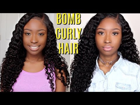 Malaysian Deep Curly + Lace Closure Review | Affordable virgin hair