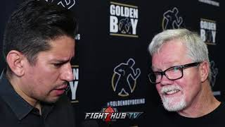 """FREDDIE ROACH """"GARCIA..CALLS OUT PACQUIAO, COTTO...WHEN WE CALL HIM BACK..NO RESPONSE!"""