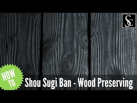 Shou Sugi Ban - Preserving wood with fire