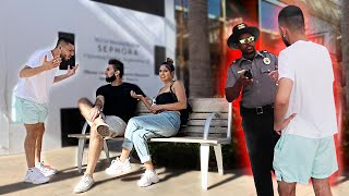 I caught my ex-girlfriend & my best friend on a date... *COPS CALLED*