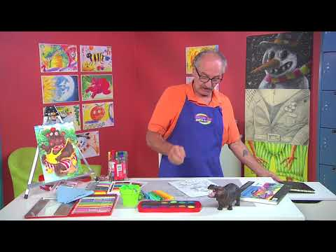 Be inspired by a story to draw a picture on Hands On Crafts for Kids with Franz Spohn (1909-3)