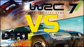 WRC 7 vs Dirt Rally
