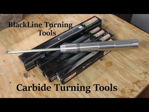An introduction and Review(of sorts) of my new BlackLine carbide wood turning tools