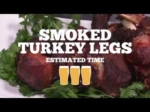Smoked Turkey Legs Recipe - Episode 23