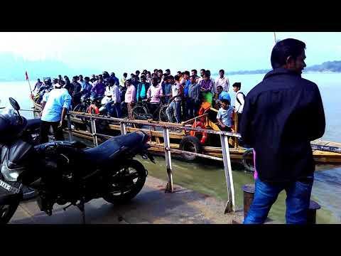 Ferry Ghat Guwahati to IIT North Guwahati | Be Careful Avoid Overloading Ferry !!!