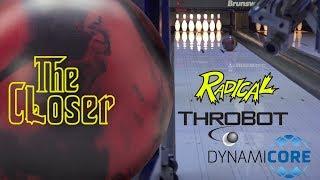 Radical Bowling // CLOSER // ThroBot Ball Review // URD 10-15-19