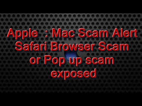 Safari Browser Scam !!! Exposed