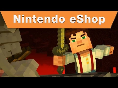 Minecraft: Story Mode for Wii U Launch Trailer