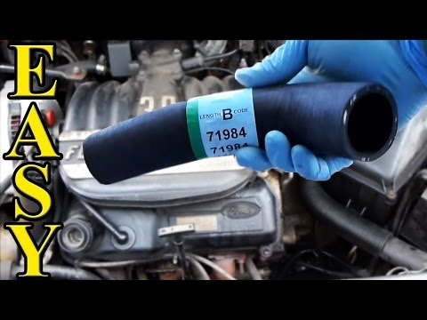 How to Replace a Radiator Hose (Upper and Lower)