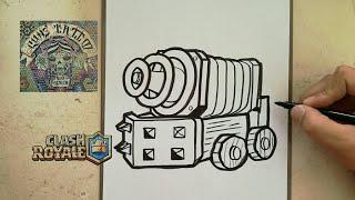 Como Dibujar Al Duende Gigante Clash Royale How To Draw
