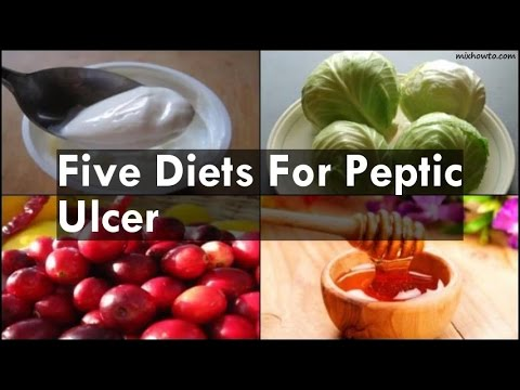 Five Diets For Peptic Ulcer